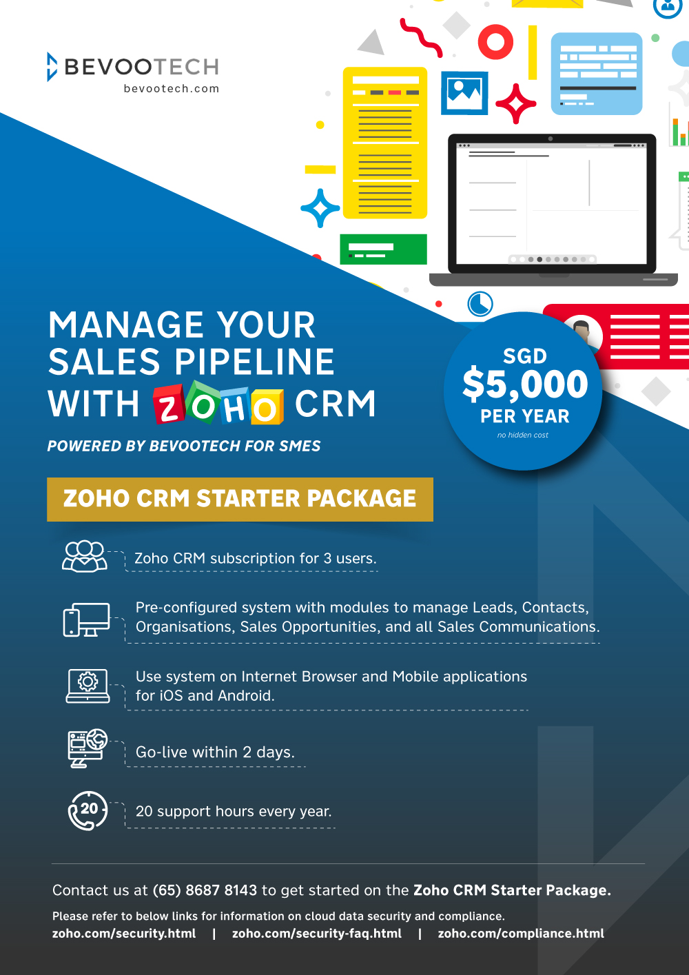 Zoho CRM Promotion for SMEs 1