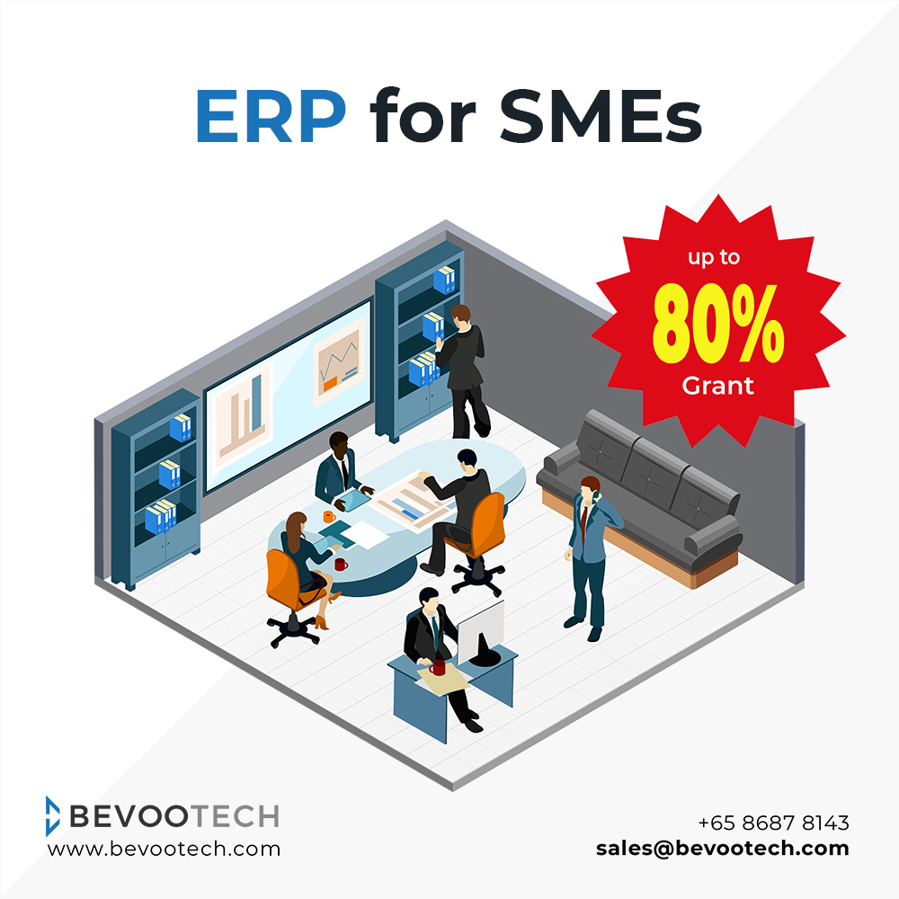 ERP Software with PSG Grant up to 80% – Singapore 3