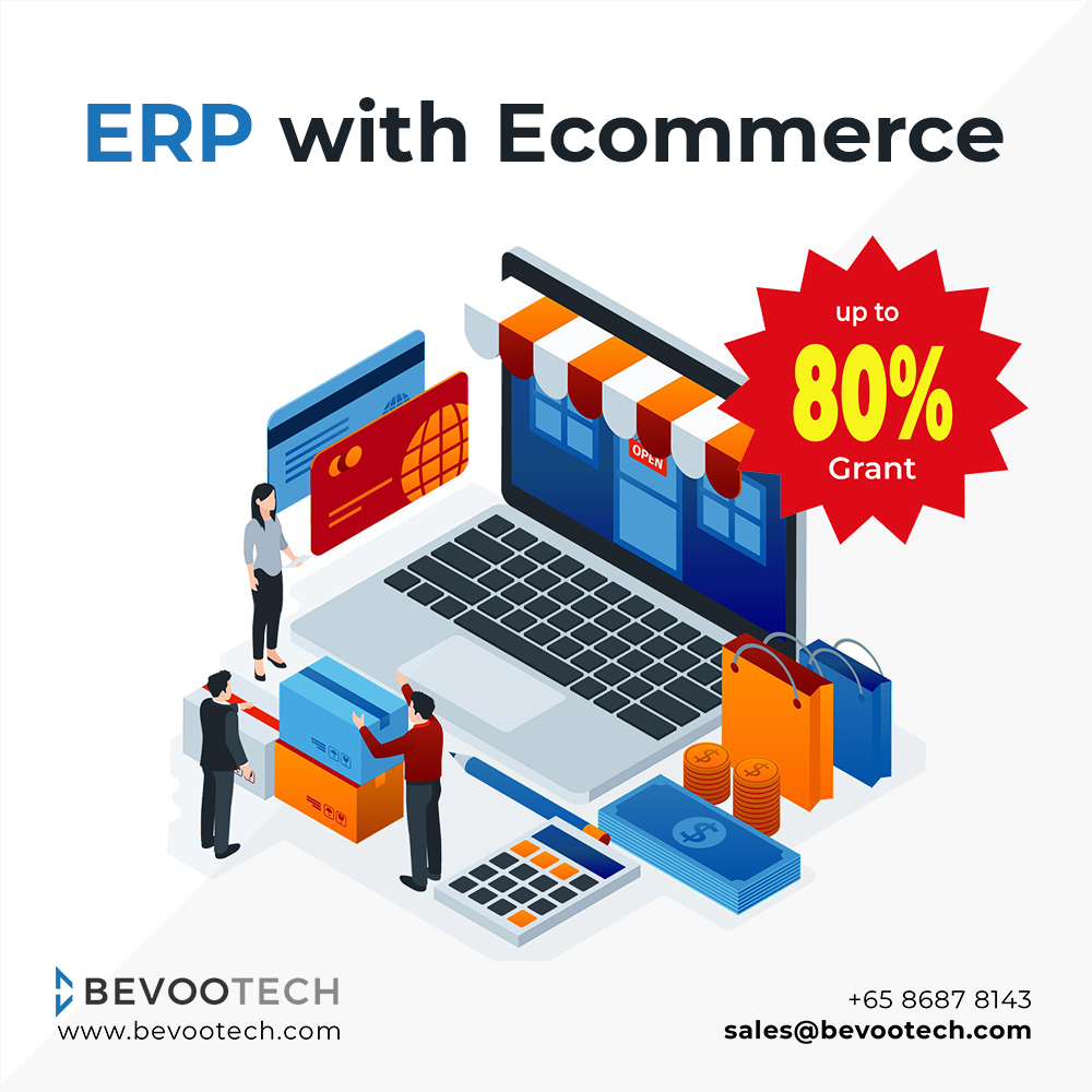 ERP Software with Integrated Ecommerce Website 1