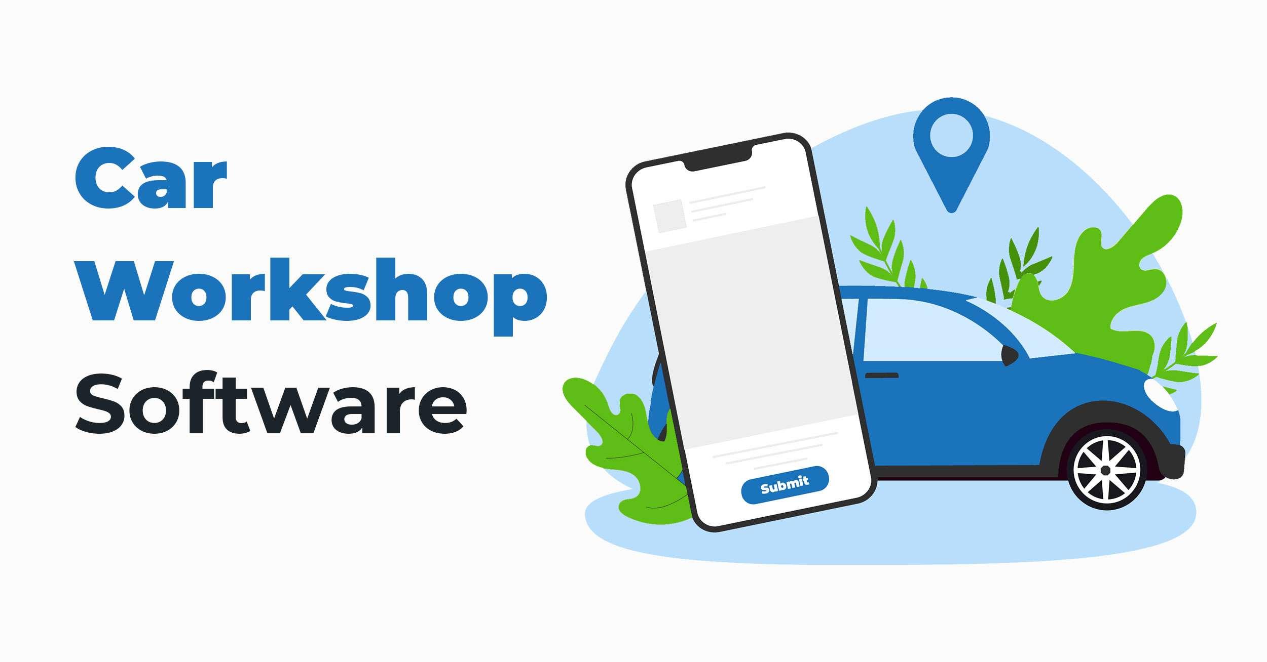 Car Workshop Software 1