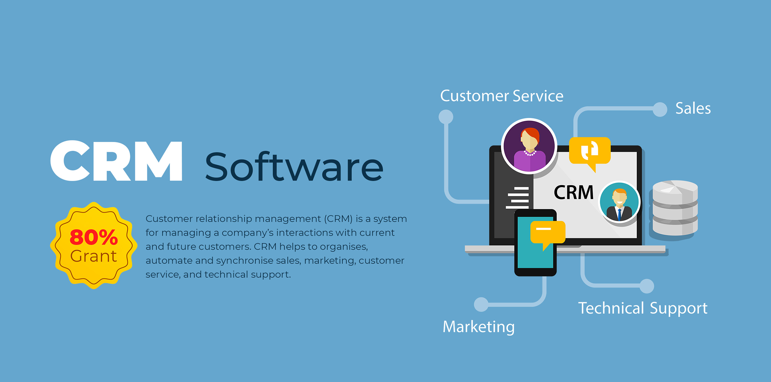 CRM Software with PSG 80% Grant Singapore 1