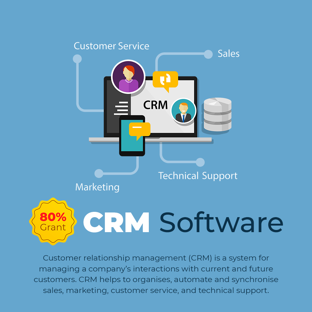 CRM Software with PSG 80% Grant Singapore 2