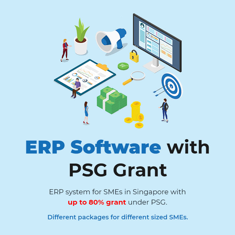 ERP Software with PSG Grant up to 80% – Singapore 2