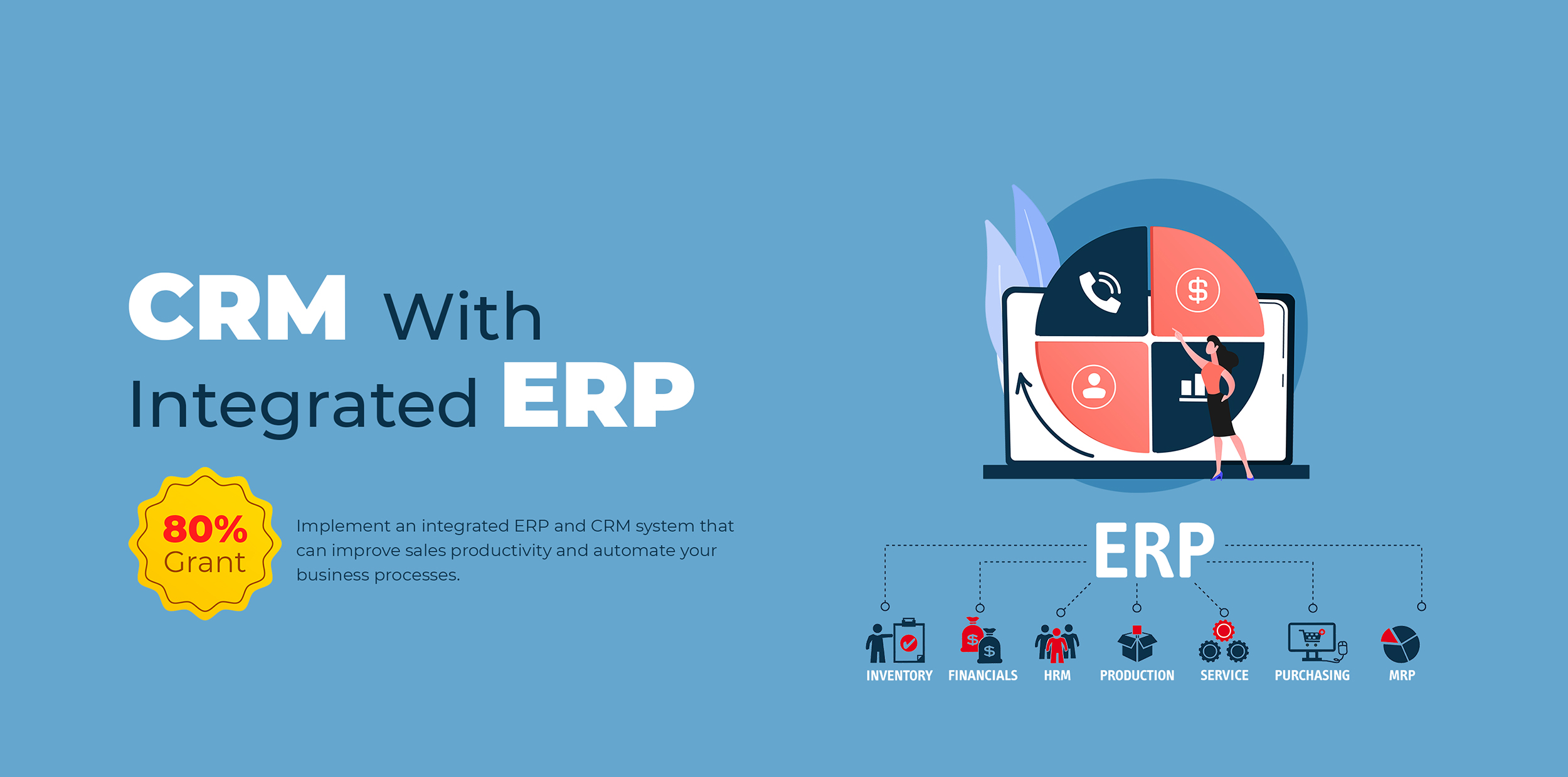 ERP with integrated CRM - PSG 80% Grant Singapore 1