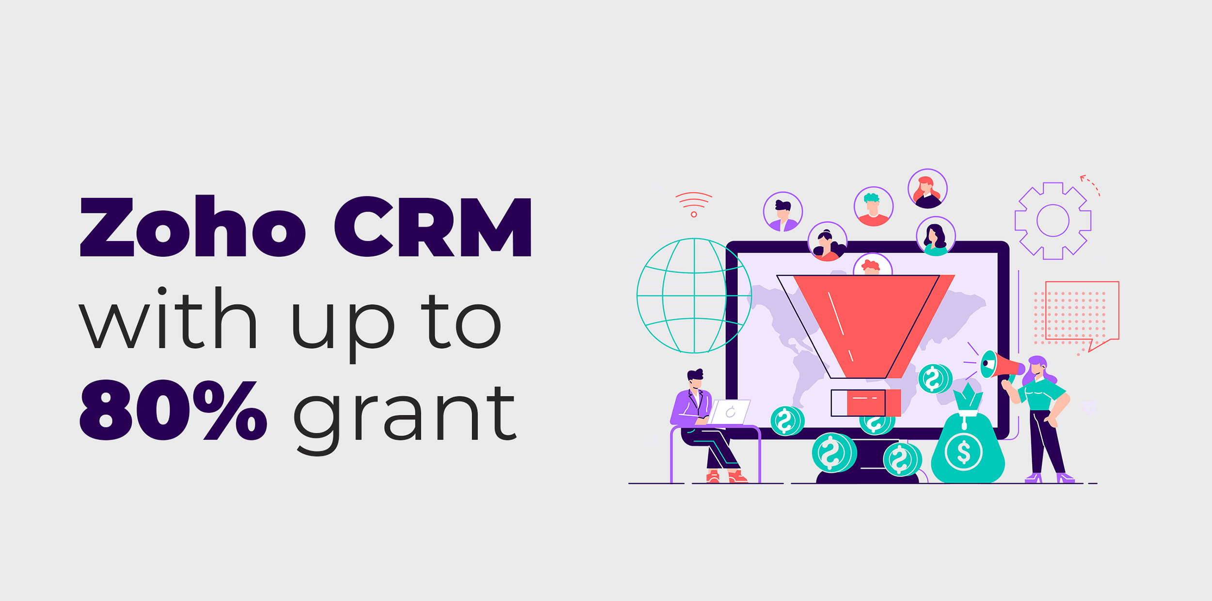 Zoho CRM with up to 80% PSG Grant 1